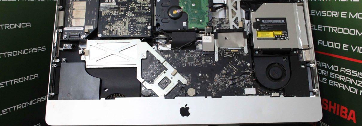 Riparazione Scheda logica iMac A1312