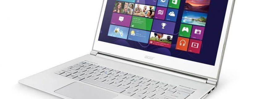 Riparazione e assistenza notebook Acer Aspire S7